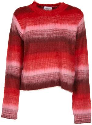 Dondup Striped Furry Sweater