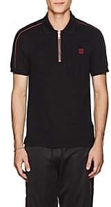 Givenchy Men's Cotton Piqué Polo Shirt - Black