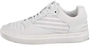 Balenciaga Perforated Low-Top Sneakers