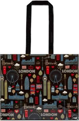 Harrods Glitter London Shoulder Bag