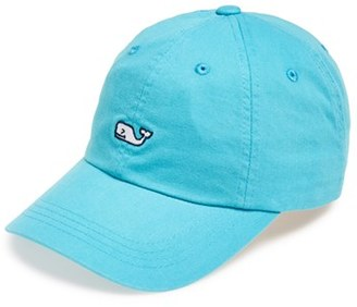 Men's Vineyard Vines 'Whale Logo' Cap - Blue/green $28 thestylecure.com
