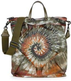 Valentino Tie-Dyed Zip Deep Tote