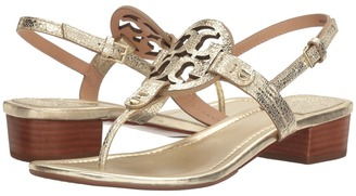 Tory Burch - Miller 30mm Sandal Women's Sandals $225 thestylecure.com