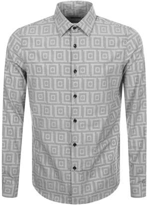 Versace Patterned Shirt Black