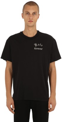 MR. COMPLETELY KATE FOREVER COTTON JERSEY T-SHIRT