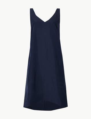 Marks and Spencer Modal Rich Shift Mini Dress
