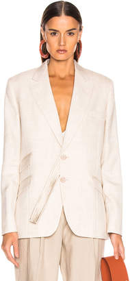 Stella McCartney Tailored Jacket in Linen | FWRD