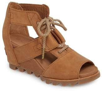 Sorel Joanie Leather Cage Sandal