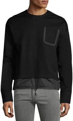 Diesel Black Gold Men's Siros Solid Sweatshirt