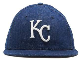 Todd Snyder + New Era + NEW ERA MLB KANSAS CITY ROYALS CAP IN CONE DENIM