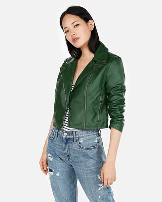 Express Clean (Minus The) Leather Moto Jacket