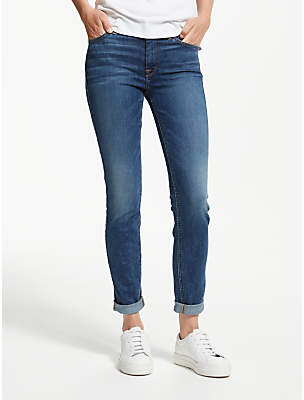 7 For All Mankind B(air) High Rise Skinny Jeans, Echo