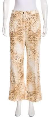St. John Sport High-Rise Wide-Leg Jeans