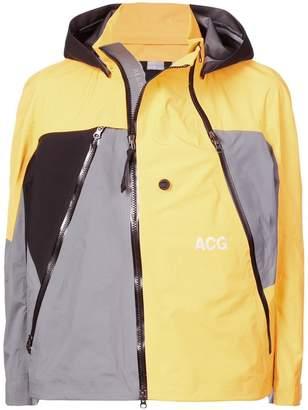 Nike colour-block hooded jacket