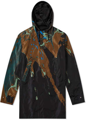 Dries Van Noten Popover Marble Print Jacket