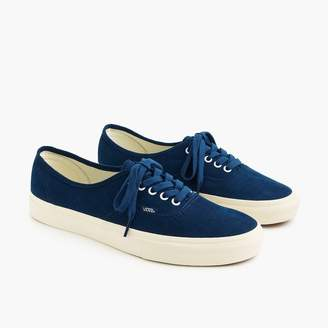 J.Crew Vans® for Authentic sneakers in Bedford cord