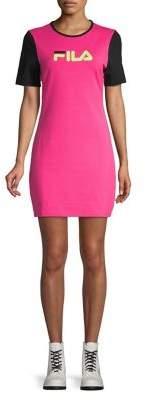 Fila Roselyn Stretch-Cotton Shift Dress