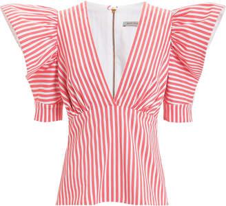 Silvia Tcherassi Top Ten Striped Cotton Blouse