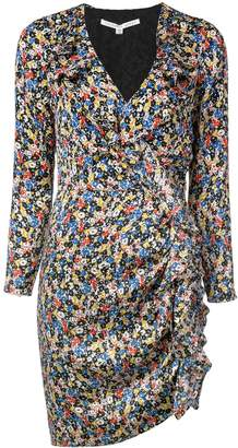 Veronica Beard floral print mini dress