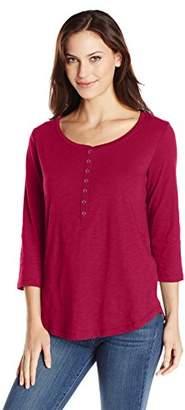 Lee Indigo Women's Sassy 3/4 Sleeve Knit Shirt