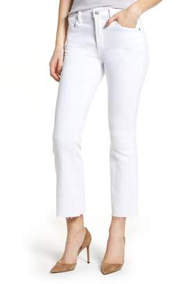 Citizens of Humanity Fleetwood Crop Straight Leg Jeans (Optic White)