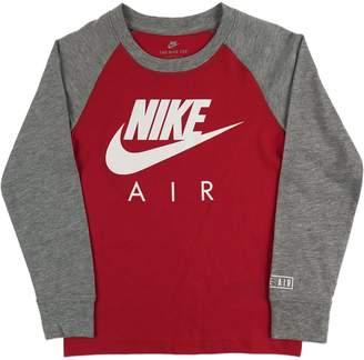 Nike Little Boy's Air Raglan Cotton Tee