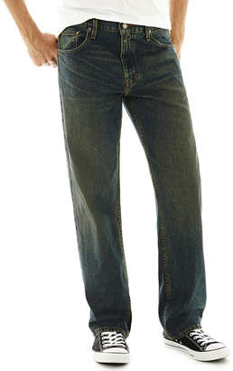 Arizona Mens Loose Fit Straight Jean