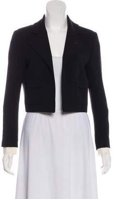 Chanel Silk Cropped Blazer