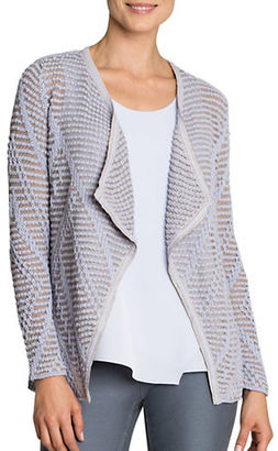 Nic+Zoe Knitted Cotton-Blend Cardigan $138 thestylecure.com
