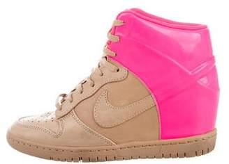 Nike High-Top Wedge Sneakers