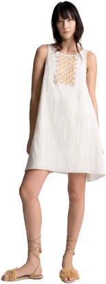 Max Studio hand-beaded sleeveless dress