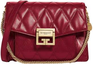 Givenchy Small Leather GV3 Cross Body Bag
