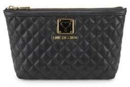 Love Moschino Bustina Quilted Pouch