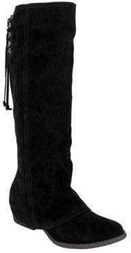 Naughty Monkey Arctic Solstice Suede Tall Shaft Boots