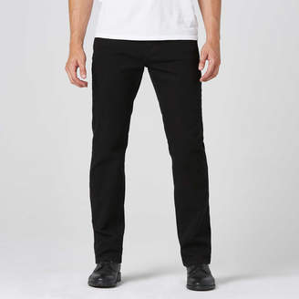 DSTLD Mens Straight Jeans in Jet Black