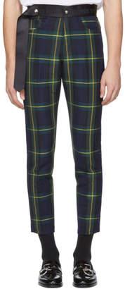 Enfants Riches Deprimes Multicolor Plaid Boy Scout Neo Punk Trousers