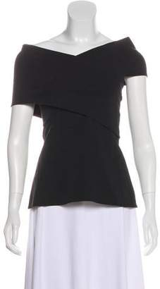 Beaufille Strapless Short Sleeve Top