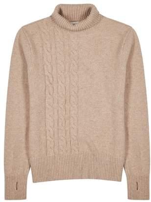 Oliver Spencer Talbot Light Sand Wool Jumper
