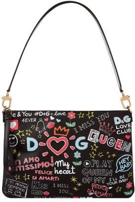 Dolce & Gabbana Mural Print Cleo Bag