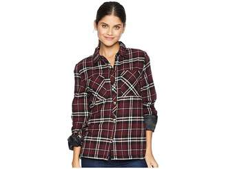 Volcom Plaid About You Long Sleeve