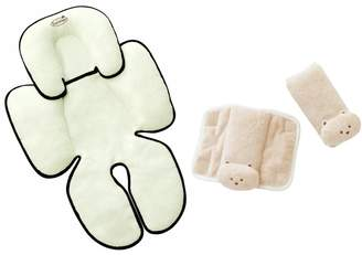 Summer Infant Snuzzler & Cushy Straps Complete Head and Body Support Set, Tan