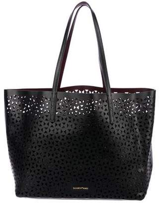 Elizabeth and James Daily Perforated Leather Tote