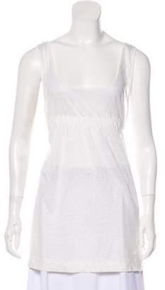 Chloé Sleeveless Linen Top