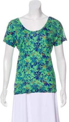Won Hundred Printed Short Sleeve Top w/ Tags