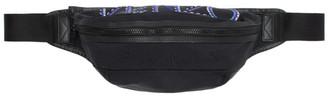 Kenzo Black Nylon Sport Cord Bum Bag