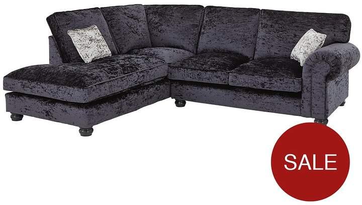 Scarpa Fabric Standard Back Left Hand Corner Chaise Sofa