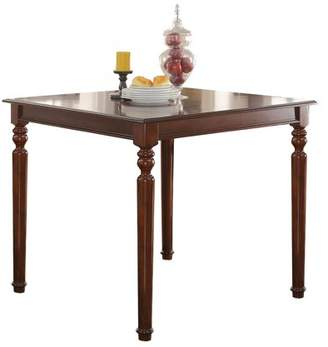 ACME Furniture ACME Weldon Counter Height Table , Cherry