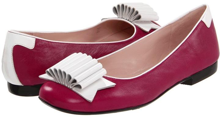 Taryn Rose Betsy (Magenta Nappa) - Footwear
