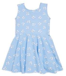 Florence Eiseman Toddler's& Little Girl's Bow-Print Fit-&-Flare Dress
