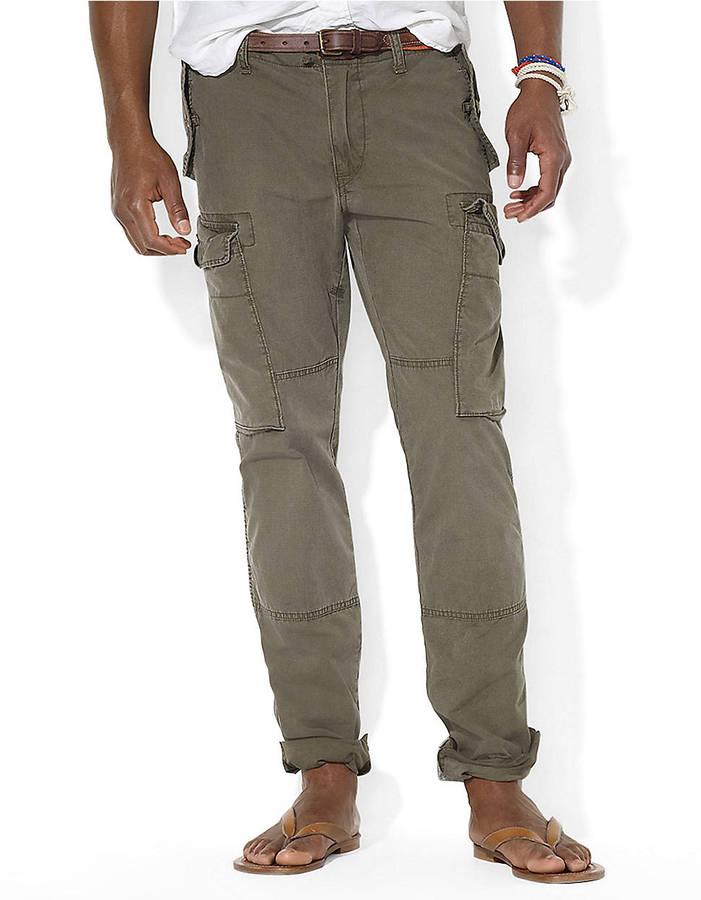 Polo Ralph Lauren Canadian Slub Poplin Cargo Pants